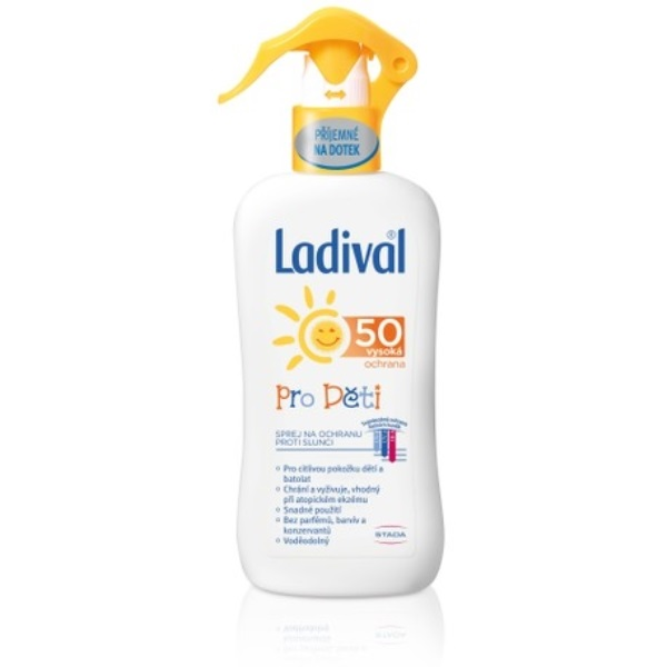 Ladival spray OF50 recenze a test