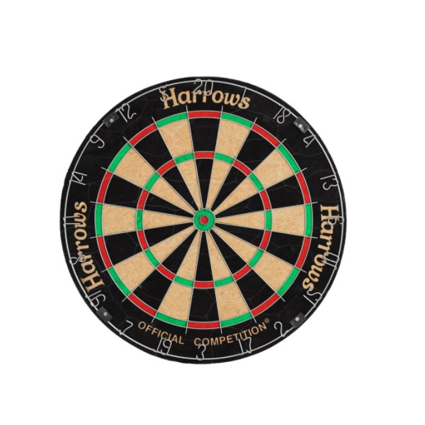 Harrows Official Competition Board recenze a test
