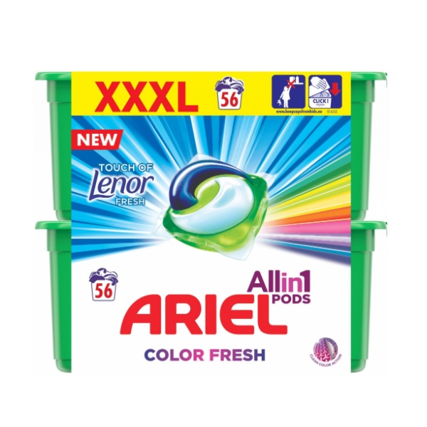 Ariel Touch of Lenor recenze a test