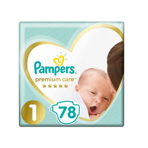 Pampers Premium Care 1 Newborn recenze a test