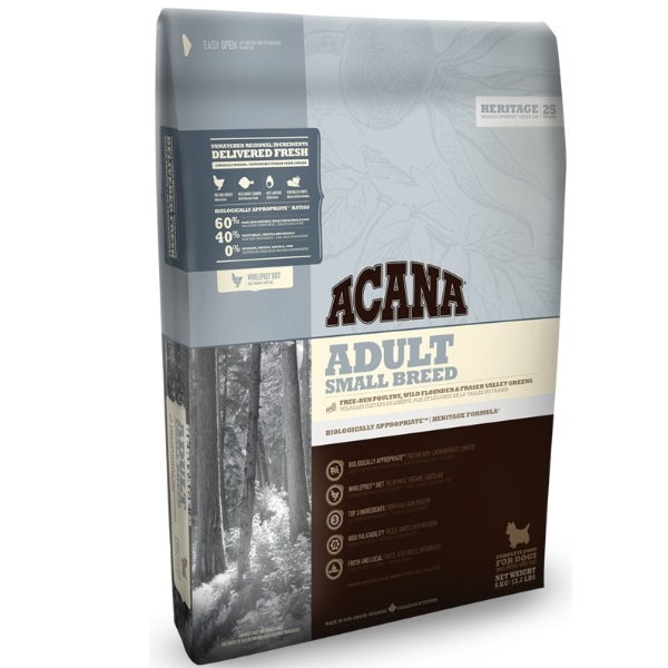 Acana Dog Adult Small Breed Heritage recenze a test