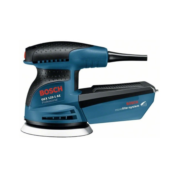Bosch GEX 125-1 AE Professional recenze a test
