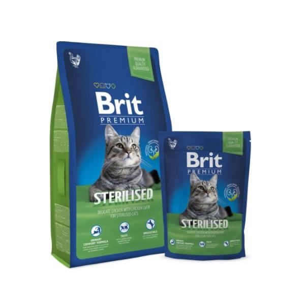 Brit cat Premium Sterilised recenze a test