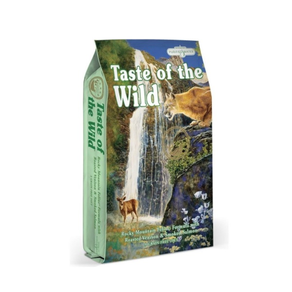 Taste of the Wild Rocky Mountain Feline recenze a test