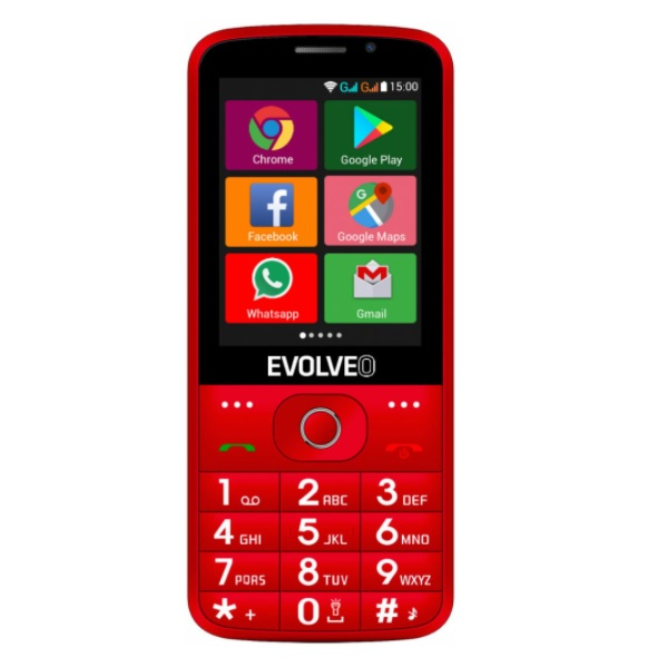 EVOLVEO EasyPhone AD recenze a test