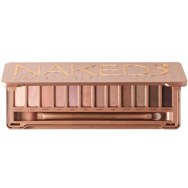 URBAN DECAY Naked 3 recenze a test